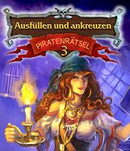 Logik-Spiel: Ausfüllen und ankreuzen: Piratenrätsel 3
