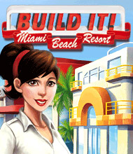 Klick-Management-Spiel: Build It! Miami Beach Resort