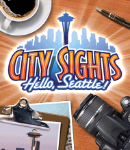 Wimmelbild-Spiel: City Sights: Hello Seattle!