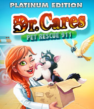 Klick-Management-Spiel: Dr. Cares: Pet Rescue 911 Platinum Edition