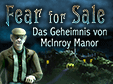 Wimmelbild-Spiel: Fear for Sale: Das Geheimnis von McInroy ManorFear for Sale: The Mystery of McInroy Manor