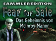 Wimmelbild-Spiel: Fear for Sale: Das Geheimnis von McInroy Manor SammlereditionFear for Sale: The Mystery of McInroy Manor Collector's Edition