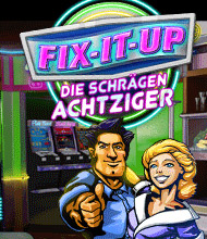 Klick-Management-Spiel: Fix-It-up: Die schr�gen Achtziger