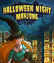 Mahjong-Spiel: Halloween Night Mahjong
