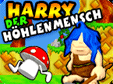Action-Spiel: Harry der HöhlenmenschCarl the caveman
