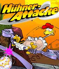 Action-Spiel: Hühner-Attacke