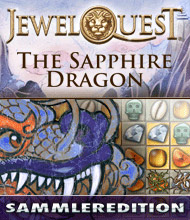 3-Gewinnt-Spiel: Jewel Quest: The Sapphire Dragon Sammleredition
