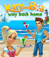 Klick-Management-Spiel: Katy and Bob: Way Back Home