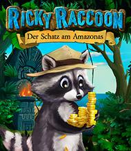 3-Gewinnt-Spiel: Ricky Raccoon: Der Schatz am Amazonas