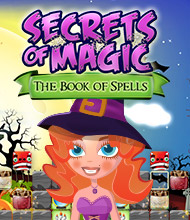 3-Gewinnt-Spiel: Secrets of Magic: The Book of Spells