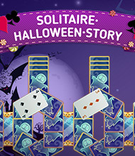 Solitaire-Spiel: Solitaire Halloween Story
