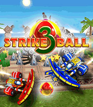 Action-Spiel: Strike Ball 3