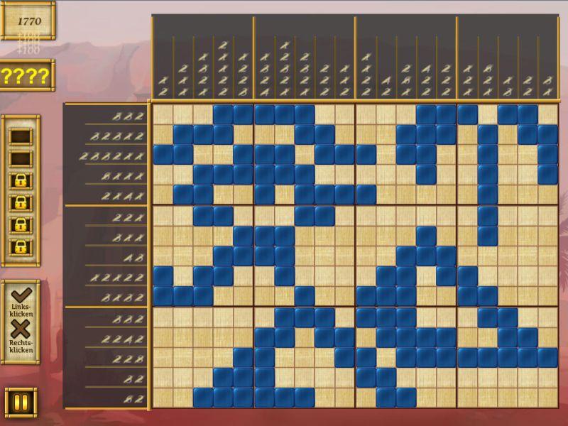 egypt-picross-raetsel-des-pharao - Screenshot No. 1