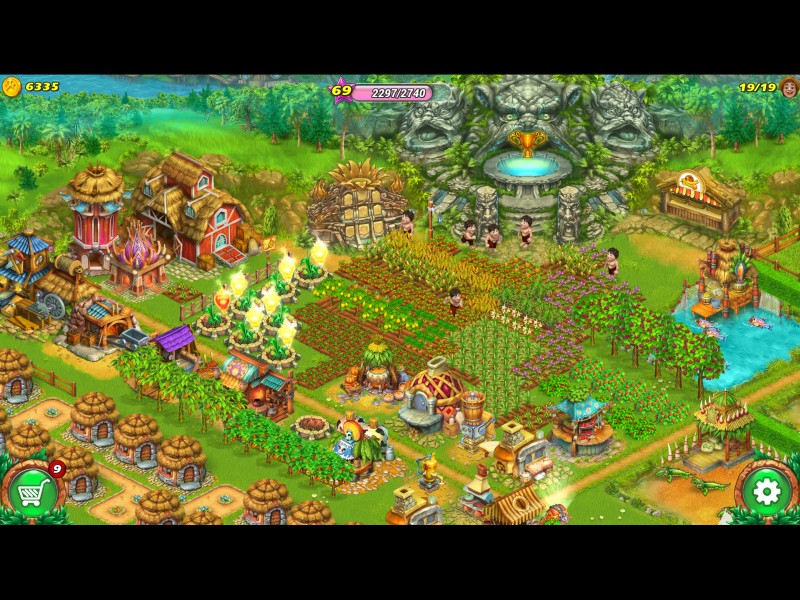 farm-tribe-dragon-island - Screenshot No. 3