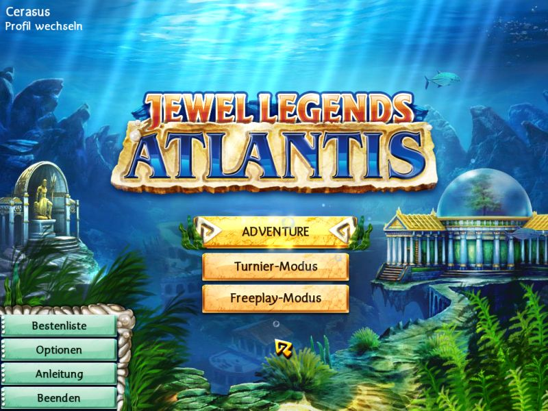 jewel-legends-atlantis - Screenshot No. 1