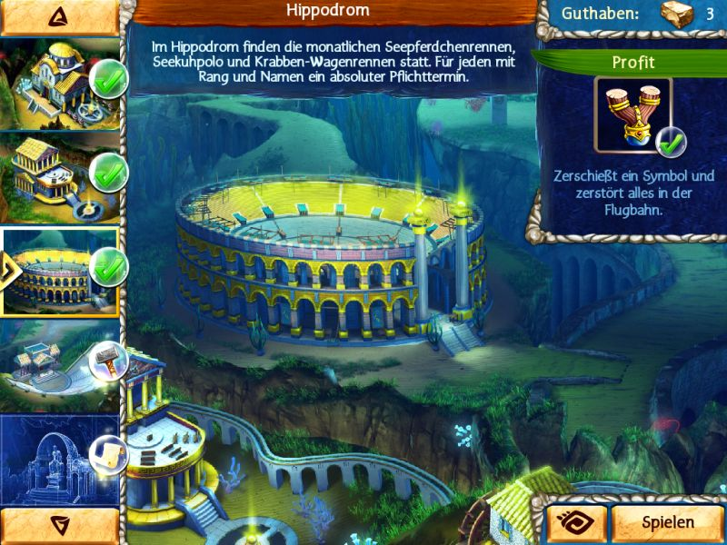 jewel-legends-atlantis - Screenshot No. 3