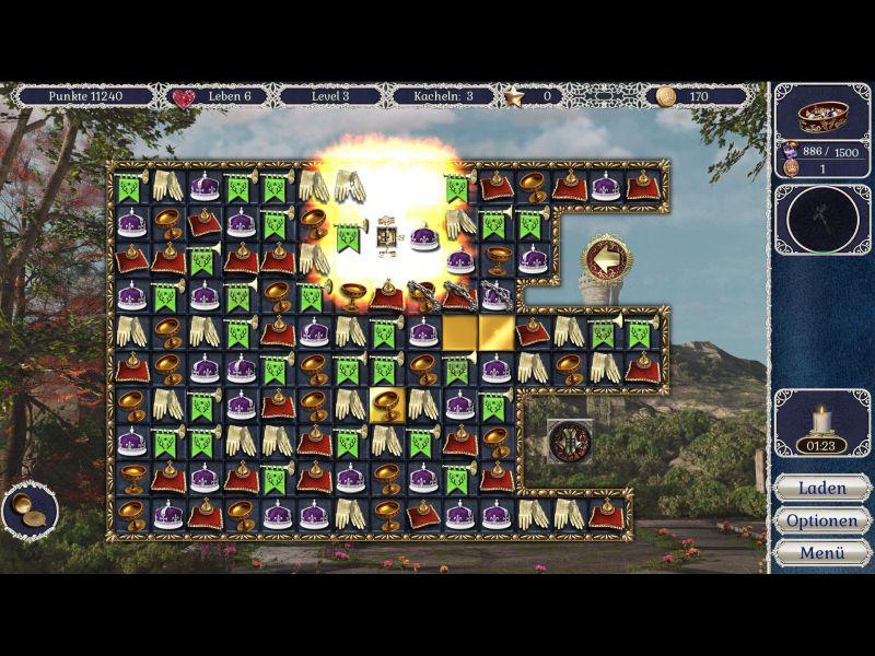 jewel-match-royale-2-rise-of-the-king-sammleredition - Screenshot No. 1