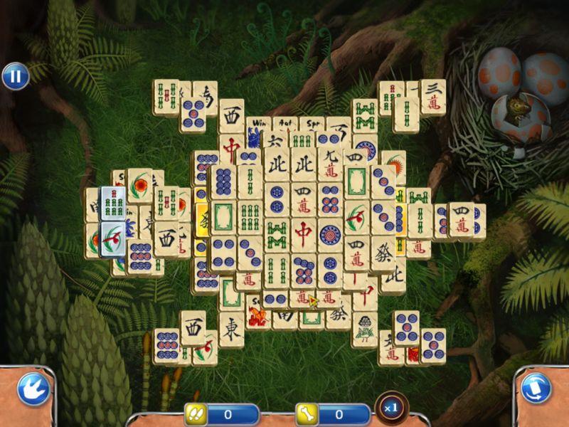 jurassic-mahjong - Screenshot No. 3