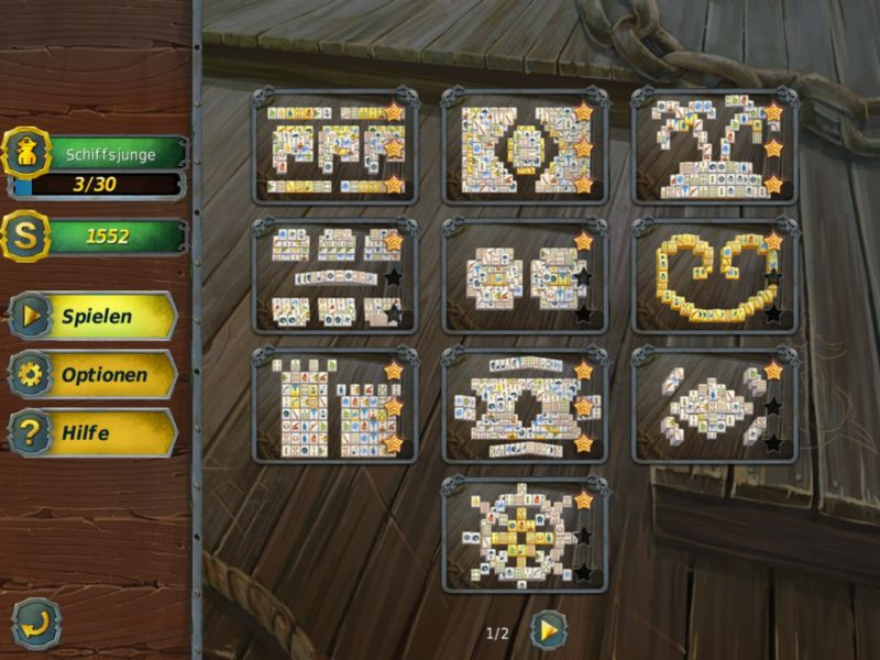 mahjong-gold-2-pirates-island - Screenshot No. 2