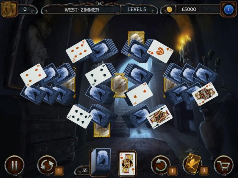mystery-solitaire-der-schwarze-rabe - Screenshot No. 4