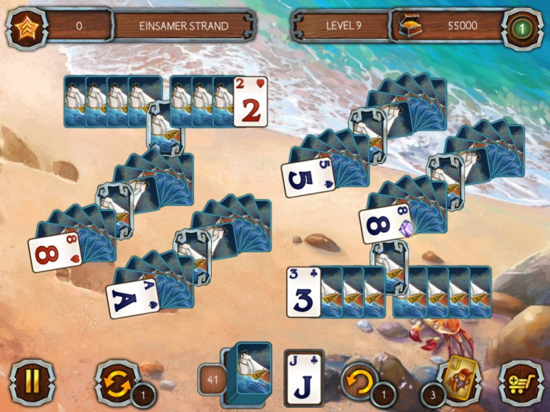 solitaire-piratenlegenden-2 - Screenshot No. 1