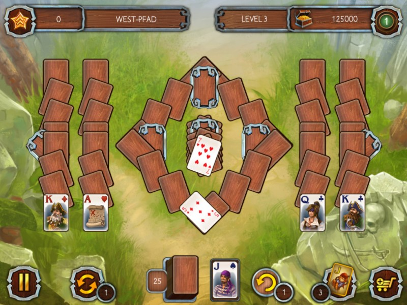 solitaire-piratenlegenden-2 - Screenshot No. 4
