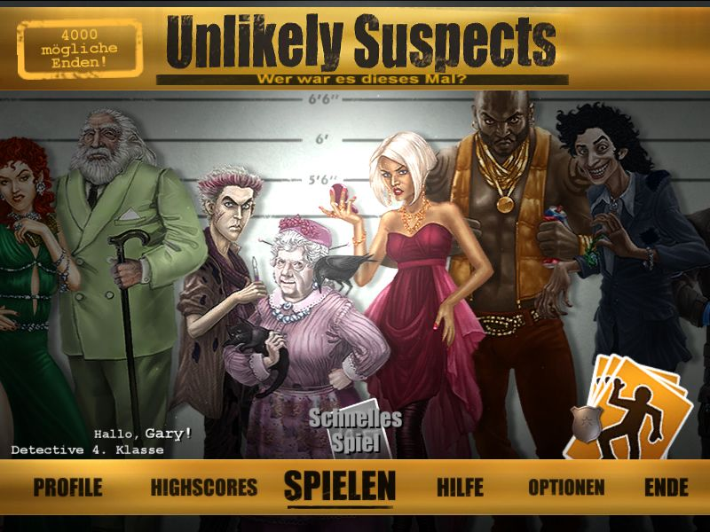 unlikely-suspects - Screenshot No. 1