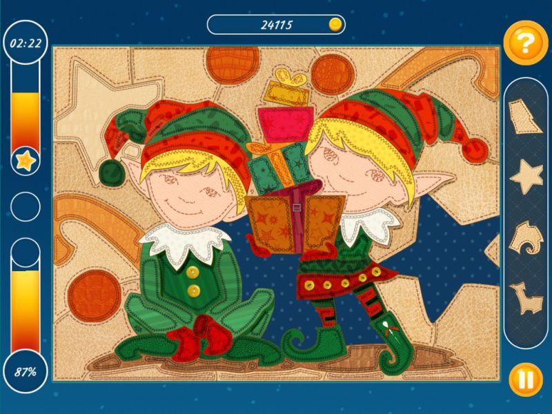 weihnachtsmosaik - Screenshot No. 1