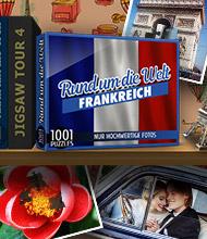 Logik-Spiel: 1001 Puzzles - Rund um die Welt: Frankreich