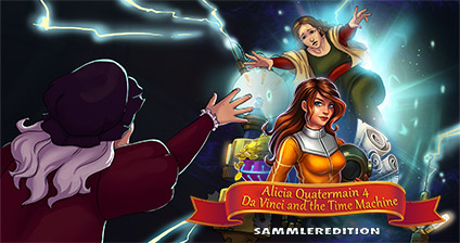 Alicia Quatermain 4: Da Vinci and the Time Machine Sammleredition