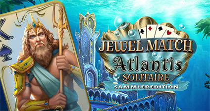 Jewel Match Atlantis Solitaire Sammleredition