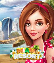 3-Gewinnt-Spiel: 5 Star Miami Resort