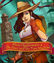 Klick-Management-Spiel: Alicia Quatermain 4: Da Vinci and the Time Machine