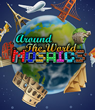 Logik-Spiel: Around the World Mosaics