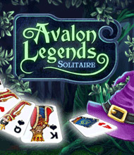 Solitaire-Spiel: Avalon Legends Solitaire