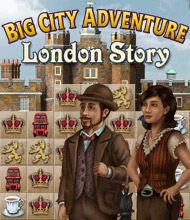 Wimmelbild-Spiel: Big City Adventure: London Story