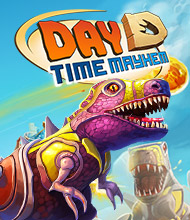 Action-Spiel: Day D: Dino-Attacke