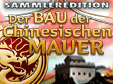 Klick-Management-Spiel: Der Bau der Chinesischen Mauer SammlereditionBuilding The Great Wall of China Collector's Edition