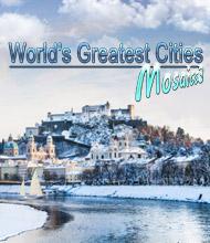 Logik-Spiel: Die größten Städte der Welt - Mosaics 3