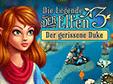 Klick-Management-Spiel: Die Legende der Elfen 3: Der gerissene DukeElven Legend 3: The New Menace