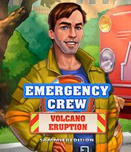 Klick-Management-Spiel: Emergency Crew: Volcano Eruption Sammleredition