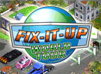 Klick-Management-Spiel: Fix-It-Up: World Tour