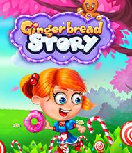 3-Gewinnt-Spiel: Gingerbread Story