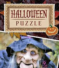 Logik-Spiel: Halloween-Puzzle