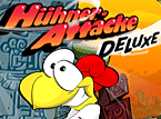 Action-Spiel: Hühner-Attacke Deluxe