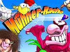 Action-Spiel: Hühner-Rache