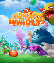 Klick-Management-Spiel: Hungry Invaders