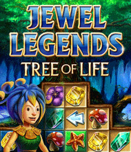 3-Gewinnt-Spiel: Jewel Legends: Tree of Life