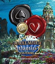 Solitaire-Spiel: Jewel Match Atlantis Solitaire 2 Sammleredition