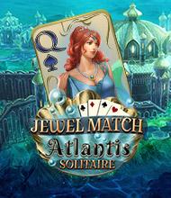 Solitaire-Spiel: Jewel Match Atlantis Solitaire